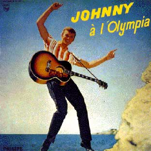 Johnny Hallyday - Olympia 1962 affiche
