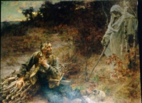 La Mort et le Bûcheron (Fables de La Fontaine, Barbin, 1668 ...
